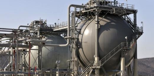 В Азии растет спрос на поставки природного газа