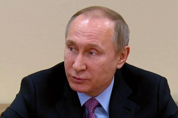 Путин отметил постепенное повышение реальных доходов россиян