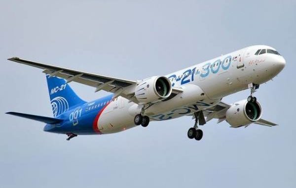 Самолет МС-21 совершил беспересадочный перелет из Иркутска в Жуковский